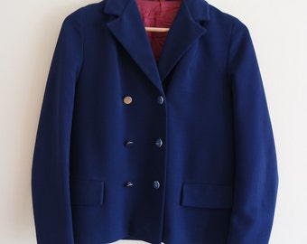 Vintage 1960's Navy Jacket