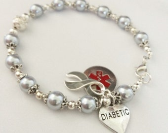 Diabetic Alert Bracelet