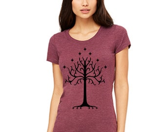 Tree of Gondor Shirt The Rise of Mordor Shirts  Clothing T-shirt tank top unisex size s m l xl