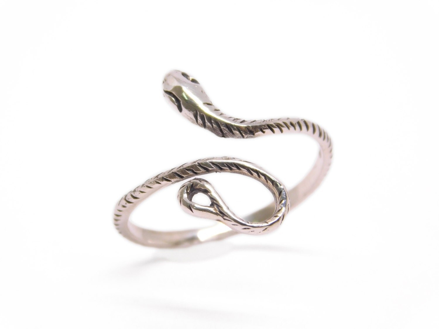 silver snake ring 925 sterling silver ring wholesale snake