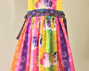 My Little Pony Pinafore with blouse option