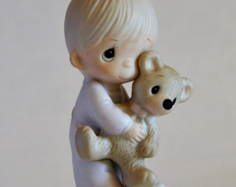 Jesus Loves Me, Precious Moments 1978, Enesco, Johnathan David,