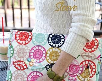 Printed Pattern Heigh-ho Laptop Sleeve Pattern Snapdragon Studios