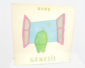 Genesis - Duke 1980 Vinyl LP Record Album Gatefold Cover SD 16014 Koechlin Picture Sleeve - Cul-De-Sac - Alone Tonight - Please Don't Ask -