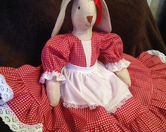 Soft toy bunny rabbit