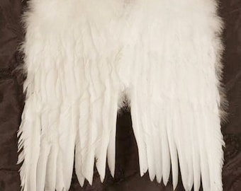 White Feather Angel Wings ~ 3 sizes available ~ Perfect for your Wedding Flower Girl