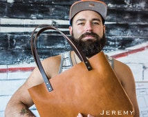 Leather Tote HUGE SALE  - Leather Bag Handmade in Portland, Top-Grain Cowhide- Award Winning Leather Tote Portland Leather Goods
