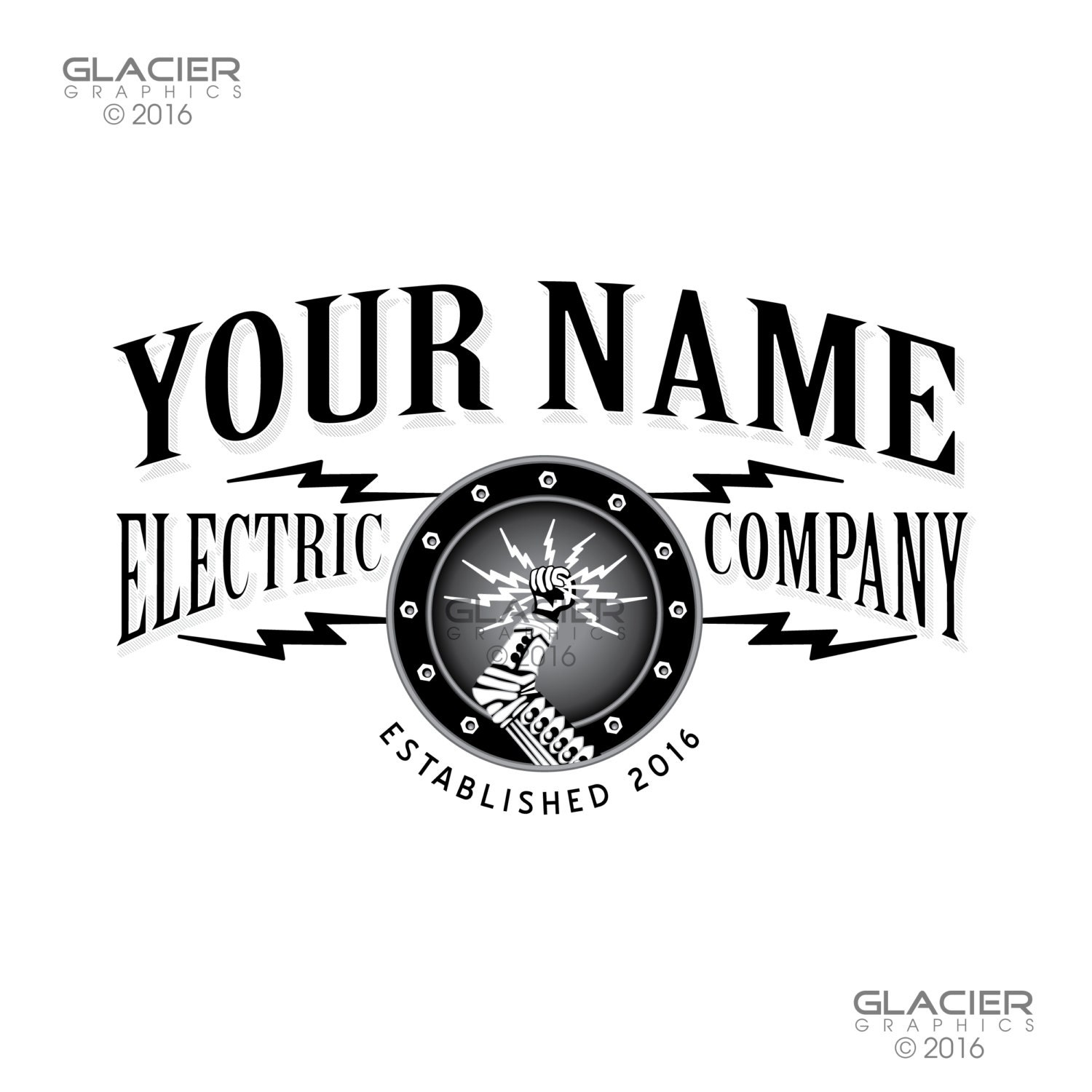 electrician logos steunk electrician logo electrical logo lighting logo 8426