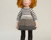 Waldorf inspired, OOAK,  handmade cloth doll (Partial payment accepted), JESSEY