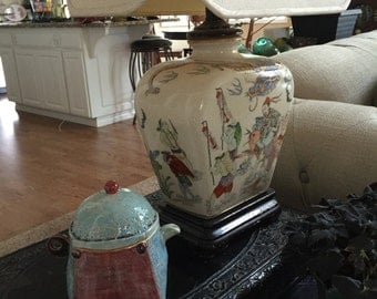 Puffy ceramic teapot
