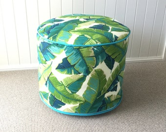 Outdoor Pouf Etsy