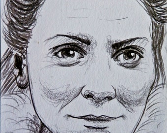 Catelyn Stark Game of Thrones ACEO Card