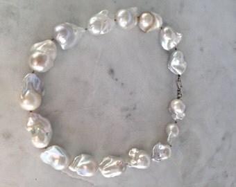 Lustrous Baroque Pearl Choker