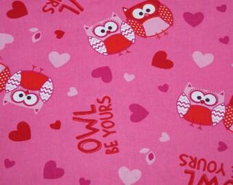 Pink Owls  : Hedgehog Snuggle Sack, Cozy Sack, Hedgie Sack, Small Animal Sleeping Bag
