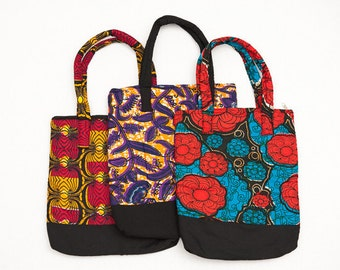 African Fabric Tote bag
