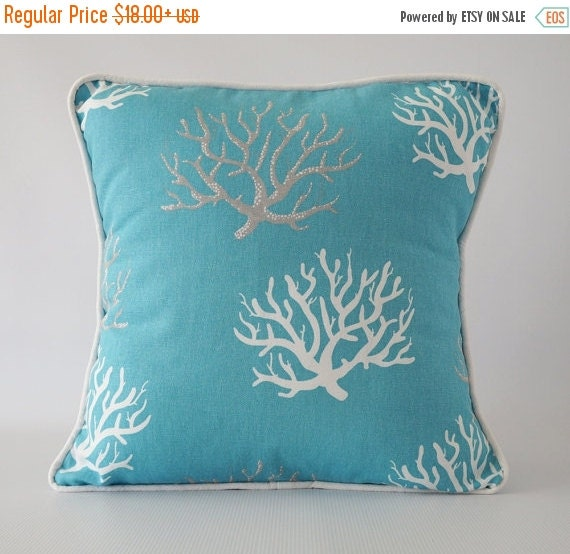 Etsy Teal Throw Pillow : INTRO SALE Blue pillow.teal pillow by OliviasSmileDecor on Etsy