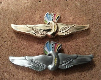 Indy 500 Grateful Dead wings hat pin
