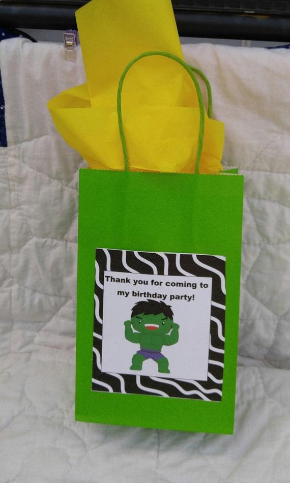 Hulk Goody Bag