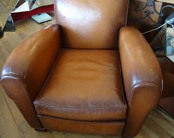 Pair of 1940 authentic club Chair