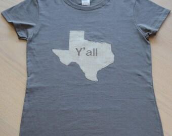 "Texas T-shirt ""Y'all"""