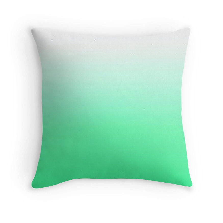 Mint Green And Brown Throw Pillows : Mint Green Pillow Mint Green Throw Pillow Green Toss Pillow