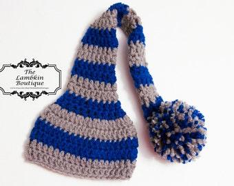 The {Derek} Long Tail Pom Pom Hat