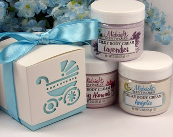 Boy Baby Shower Favors - Body Lotion Shower Favors - Baby Boy Shower Favors - Custom Favors - From Your Shower to Mine - Favors for Boy