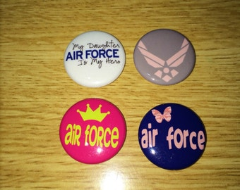 Air Force daughter magnets set of 4