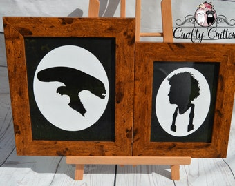Alien & Ripley Silhouette Picture's