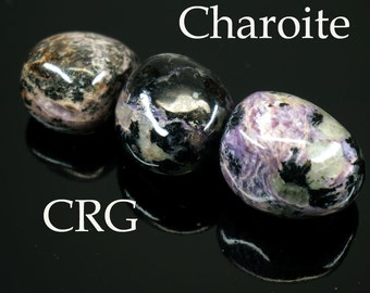 Charoite Tumbled Gemstones 1/2-LB