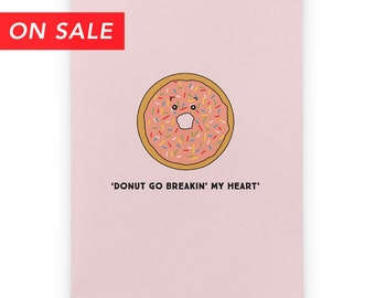 Romantic Card - Donut
