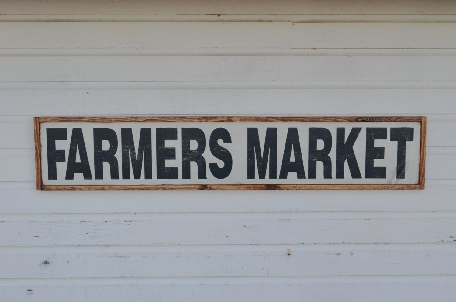 Farmers market sign rustic farm sign rustic home decor for Decor market reviews