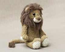 Amigurumi crochet lion pattern