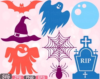Halloween Trick Or Treat SVG Cutting Files SVG Witch Witches boo cut file Silhouette Clipart sign icons Cricut Design cameo vinyl 490S