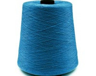 Linen yarn for knitting and crocheting