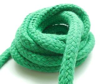 one meter magician rope, emerald green braid