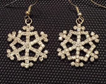 Brillant Snowflake Earrings