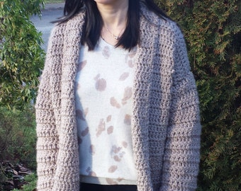 Cute 'n Comfy Crochet Winter Coat Pattern
