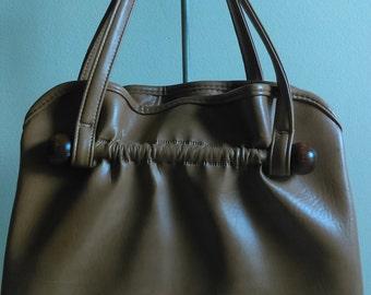 Vintage Tan Handbag.