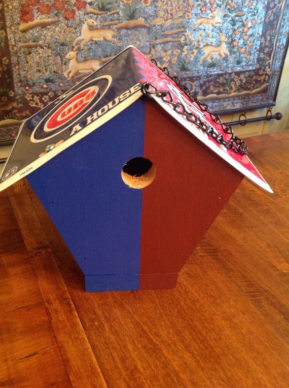 Handcrafted St Louis Cardinals Chicago Cubs A House Divided
