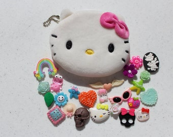 Hello Kitty Pouch and Kawaii Cabochons