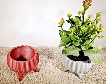 Molcajete Style Table/Desk Planter