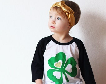 St Patricks Day Shirt - Shamrock Shirt -Saint Patricks Day Shirt - Clover Shirt - Lucky Clover Tee - Kid Shirt - Toddler Shirt - Baby Shirt