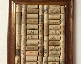 Wine Cork Board- Medium