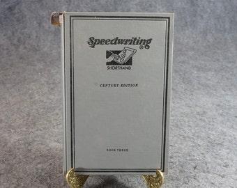 Speedwriting C. 1954
