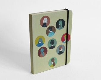 Notebook Colour heads
