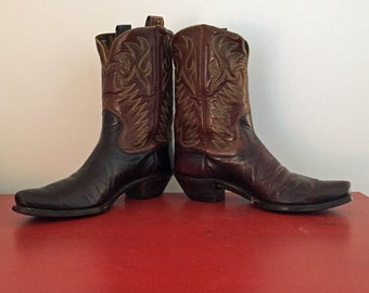 Antique Hyer Cowboy Boots. ca. 1947