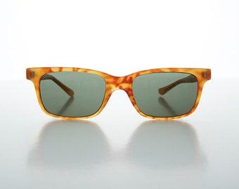 Classic Horn Rim Rare 1960s Beatnik Mod Men's Vintage Sunglasses -Sterling