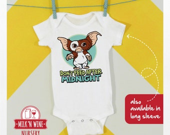 Gizmo Don't Feed After Midnight, Baby, Onesie®, bodysuit, romper, under shirt