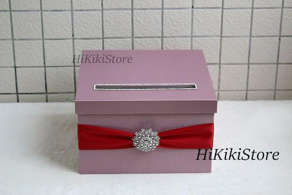 Elegant Wedding Gift Card Box : box, wedding money box,wedding card holder, Wedding box, Wedding gift ...